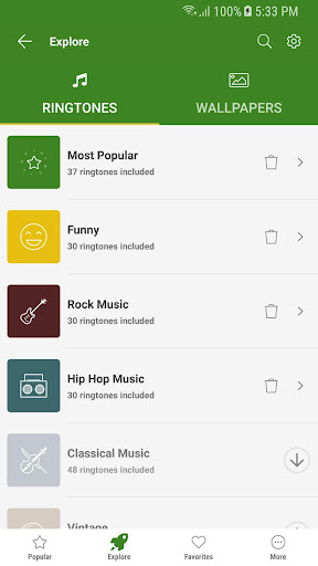 Free Ringtones for Androidu2122 7.3.4 8