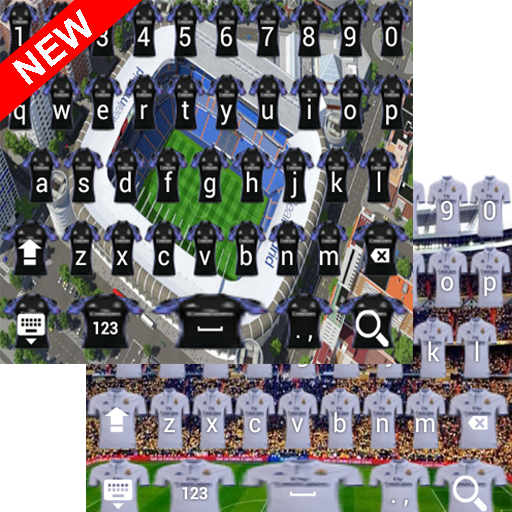 Madrid Fans Keyboard Themes