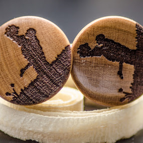 WOOD BUTTONS by Alexandru Bogdan Grigore - Artistic Objects Clothing & Accessories ( sculpture, wood, engrave, buttons, passion )