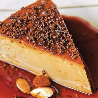 Pressure-Cooker Espresso and Toasted Almond Flan recipe | Epicurious.com.