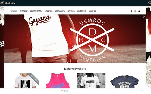 DemRoc Clothing- screenshot thumbnail