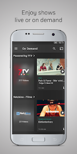 Zattoo - TV Streaming- screenshot thumbnail