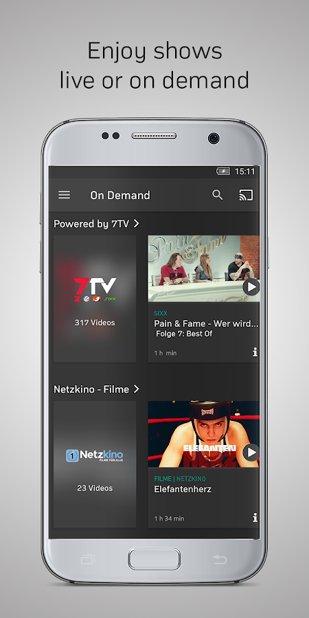 Zattoo - TV Streaming- screenshot
