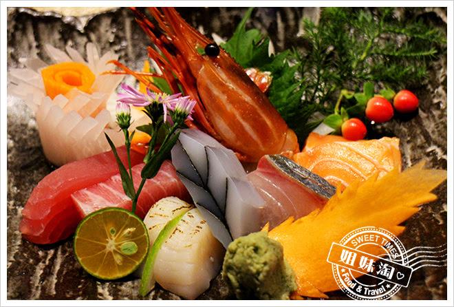 次郎本格日本料理生魚片盛合