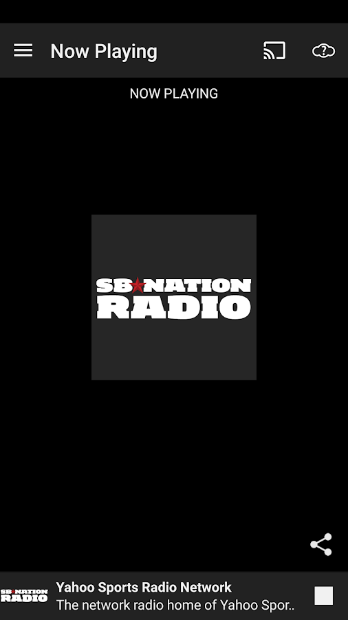 SB Nation Radio- screenshot