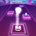 Marshmello Tiles Hop Song Games icon