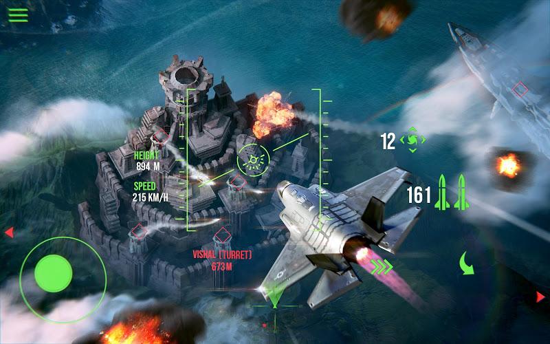 Modern Warplanes: Wargame Shooter PvP Jet Warfare Screenshot 1