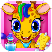 Jungle Animal Beauty Makeup - Baby Pets Star Salon