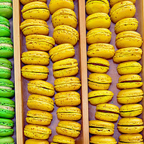 Macaroons by Sue Bernhard - Smith - Food & Drink Cooking & Baking ( food, cooked, baked, macaroons,  )