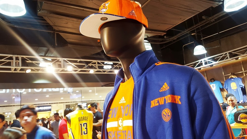 NBA STORE ADIDAS APPAREL
