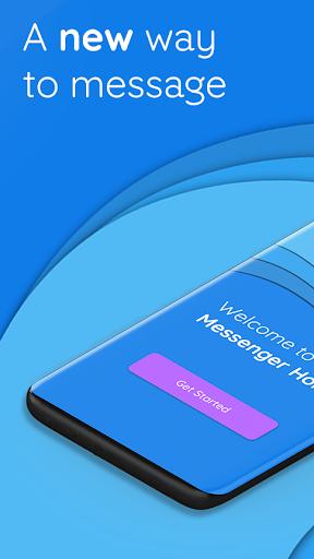 Messenger Home - SMS Widget and Home Screen 2.7.47 screenshots 1