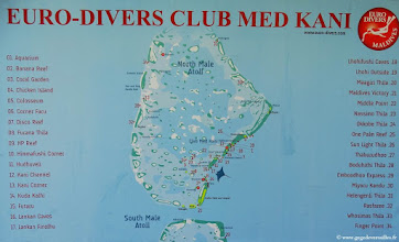 Photo: #001-Les sites de plongée Euro-Divers Club Med Kani.