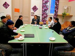 Photo: Vaasan kurdien kulttuuriyhdistys kokoontuu Miratalossa.