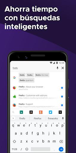 Firefox: el navegador web rápido y privado screenshot 5