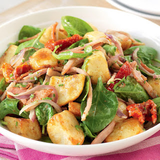 Warm Potato and Bacon Salad