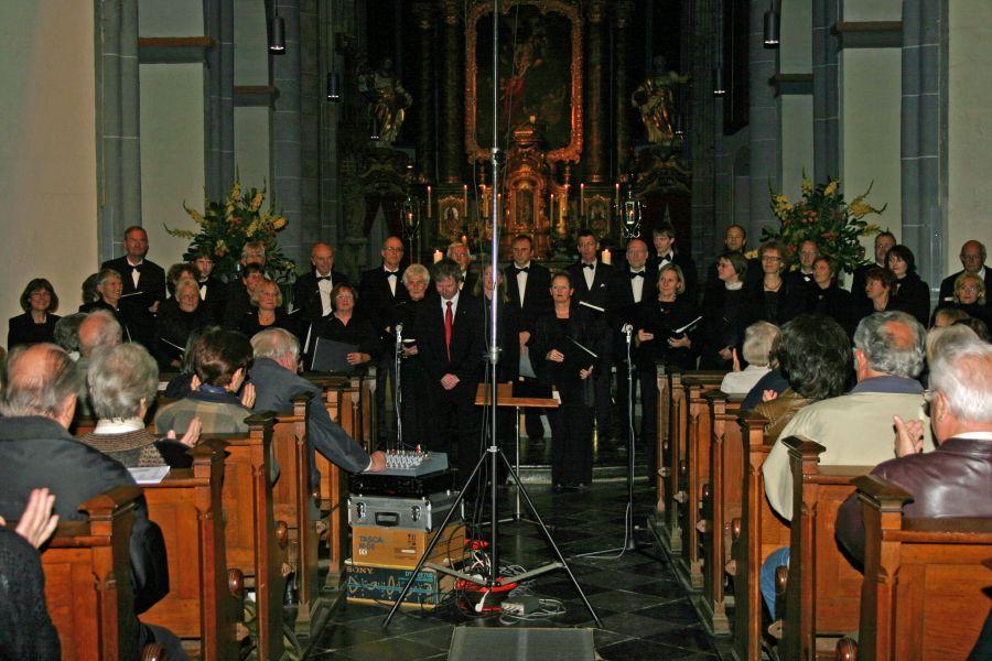 Photo: A-Cappella Konzert Propsteikirche St. Kornelius, Aachen-Konelimünster / 18.09.2008