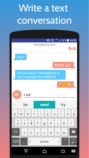TextingStory - Chat Story Maker 2.0.4 screenshots 1