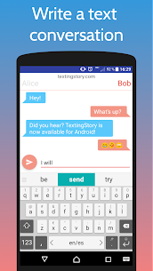 TextingStory – Chat Story Maker 1