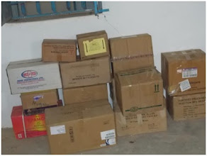 Photo: Medical supplies are purchased in nearby markets. Our grant to the Wunlang Clinic helps jumpstart operations until support from the Ministry of Health and modest patient fees can sustain operations.