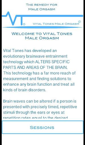 Vital Tones 男性性高潮