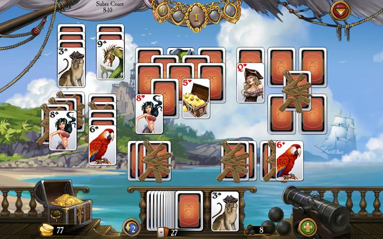 Seven Seas Solitaire Screenshot