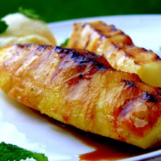 Grilled Glazed Pineapple