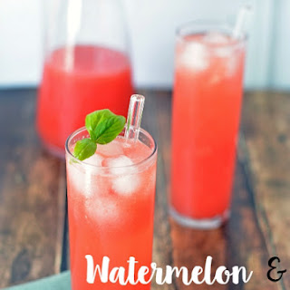 Watermelon and Basil Refresher