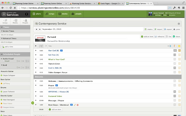 Planning center services chrome web store freerunsca Images