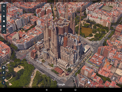 Google Earth Capture d'écran