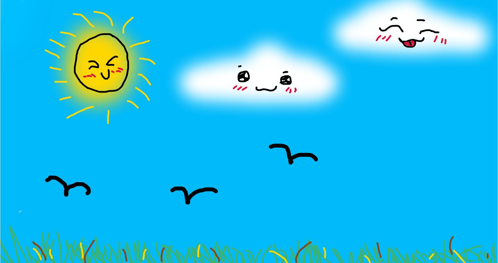 cute sky d drawings sketchport