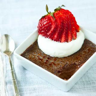 Perfect Chocolate Creme Brulee.
