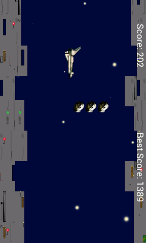 android Space Challenge Screenshot 3