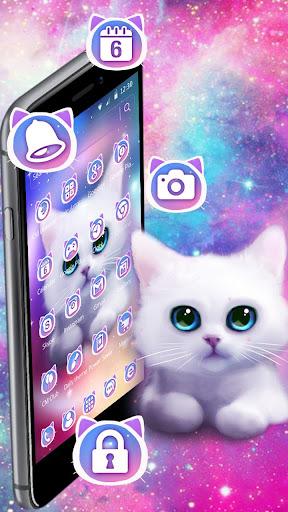 Cute Fluffy Kitten Theme screenshots 2