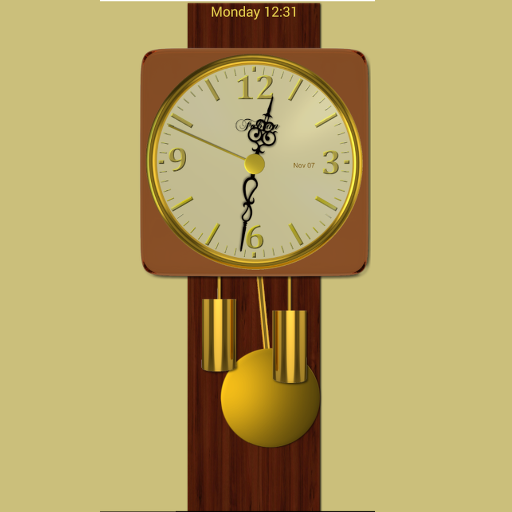 Modern Pendulum Wall Clock