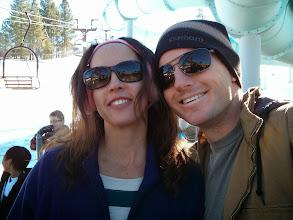 Photo: Mark and Eva in Big Bear