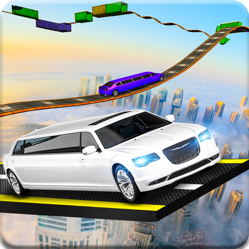 Limousine Impossible Sky Track Simulation