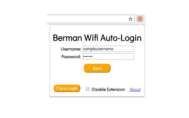 Berman Wifi Auto-Login