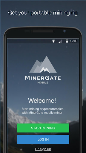 MinerGate Mobile Miner screenshot 1