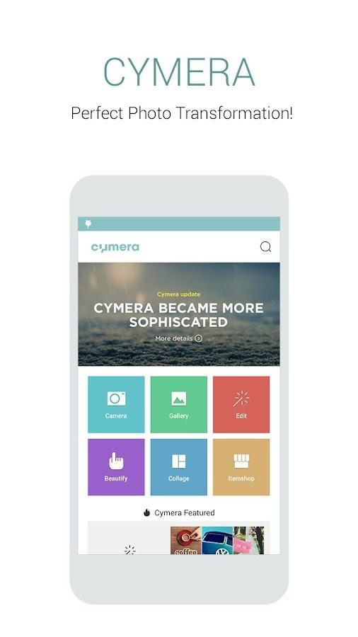 Cymera - Photo Editor, Collage- screenshot