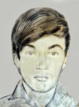 Photo: Portret malarza z Czech Rudolfa Sacky'ego z 1966r.