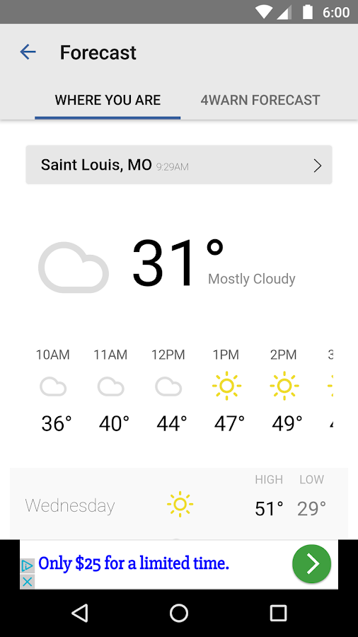 KMOV Weather - St. Louis- screenshot
