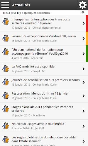Arsene76 Android App Screenshot