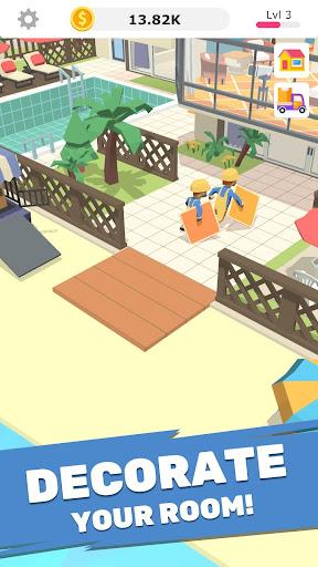 Idle Decoration Inc - Idle, Tycoon & Simulation screenshot 1