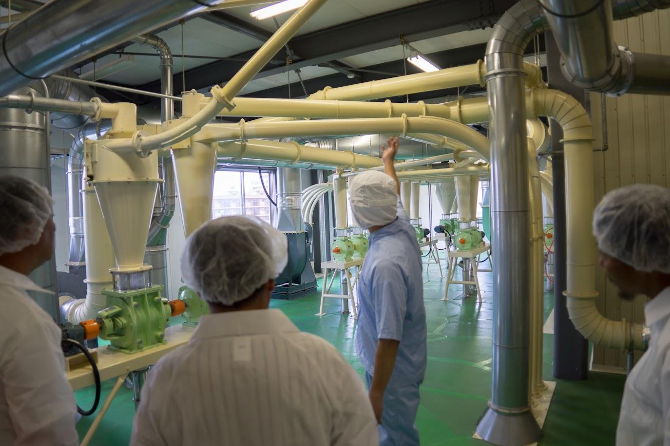 横山製粉(株)そば粉工場