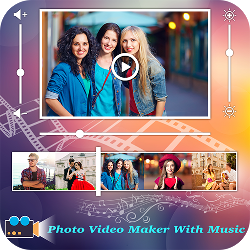 Movie Maker With Music : Photo to Video Maker