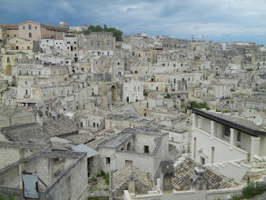 Photo: View of Matera from mid-town