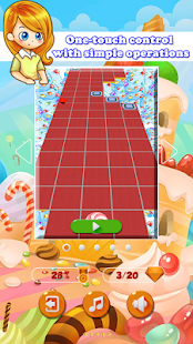Candy Sky: Rolling 3D (Beta) Screenshot