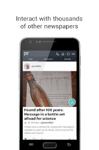 Papiroom - Personal Newspaper- screenshot thumbnail