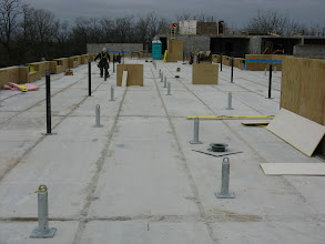 Photo: South roof ready for roofing membrane Nov 12,12