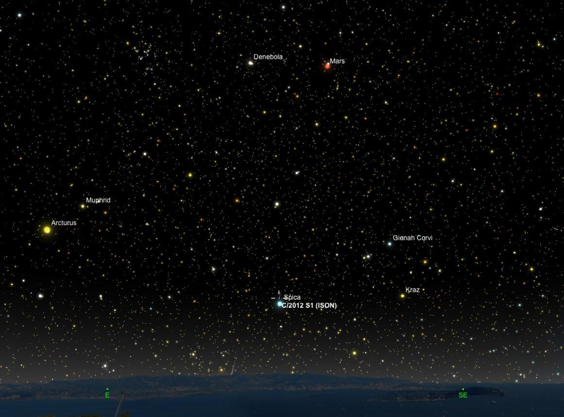 Comet ISON on November 18, 2013